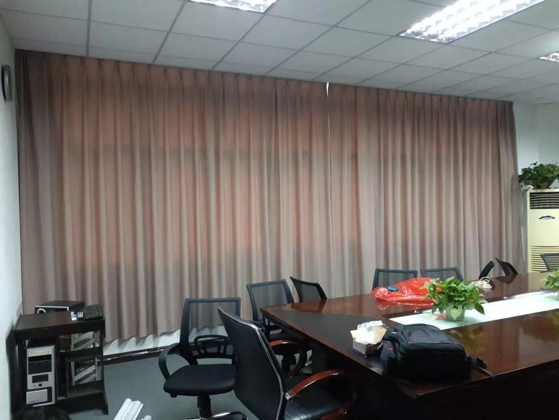 深圳会议室遮光办公窗帘定做