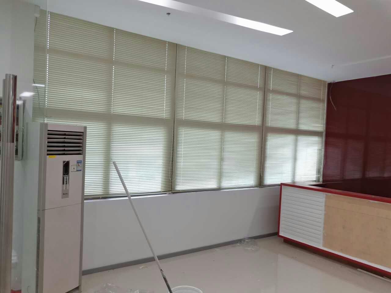 西乡固戍办公室百叶窗帘安装