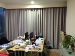 办公开合帘|办公室亚麻窗帘|办公布艺窗帘定做