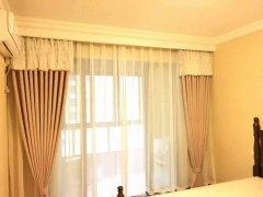 福田酒店窗帘定做 遮光隔热布艺窗帘