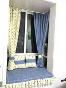 上步通心岭小区定做布艺窗帘